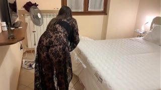 Fantasía de mi esposa ser cojida como una sirvienta